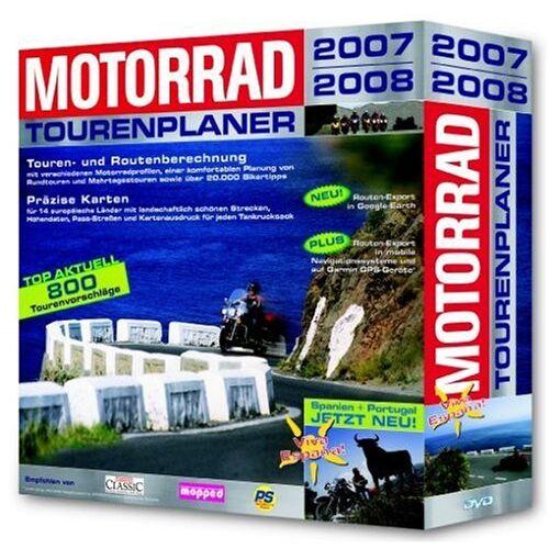 Buhl Data Service - Motorrad Tourenplaner 2007/2008 in Eurobox (DVD-ROM) - Preis vom 18.10.2020 04:52:00 h