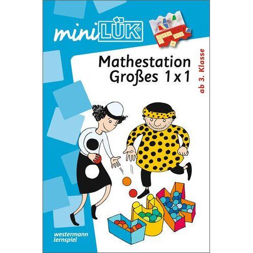 Heiner Müller - miniLÜK: Mathematik / Mathestation Großes 1 x 1: Ab 3 Klasse - Preis vom 08.05.2021 04:52:27 h
