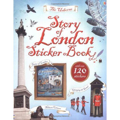 Jones, Rob Lloyd - Story of London Sticker Book - Preis vom 18.04.2021 04:52:10 h