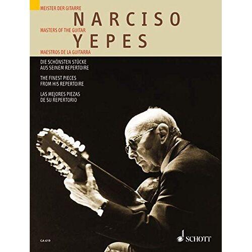 - Die schönsten Stücke aus seinem Repertoire: Meister der Gitarre. Gitarre. (Gitarren-Archiv) - Preis vom 18.10.2020 04:52:00 h