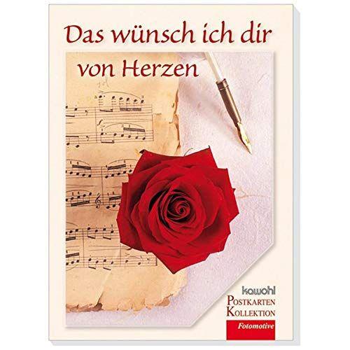 - Das wünsch ich dir von Herzen: Postkartenbuch mit Kawohl-Top-Motiven - Preis vom 06.03.2021 05:55:44 h