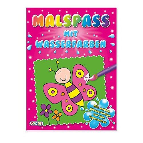 - Malspaß mit Wasserfarben (pink) - Preis vom 28.03.2020 05:56:53 h