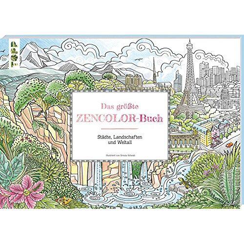 Ursula Schwab - Das größte Zencolor-Buch - Preis vom 05.05.2021 04:54:13 h