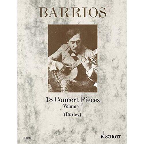 Raymond Burley - 18 Concert Pieces: Vol. 1. Gitarre. - Preis vom 11.05.2021 04:49:30 h