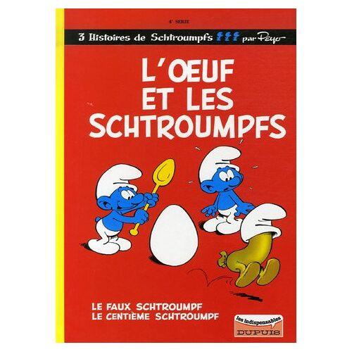 Peyo - Les Schtroumpfs, Tome 4 : L'oeuf et les Schtroumpfs ; Le faux Schtroumpf ; Le centième Schtroumpf - Preis vom 12.04.2021 04:50:28 h