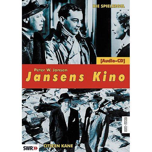 Jansen, Peter W. - Jansens Kino: Die Spielregel / Citizen Kane, 1 Audio-CD - Preis vom 13.05.2021 04:51:36 h