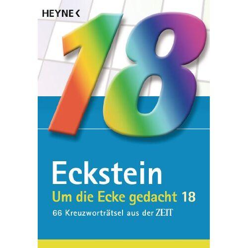 Eckstein - Um die Ecke gedacht 18: 66 Kreuzworträtsel aus der Zeit - Preis vom 20.01.2021 06:06:08 h