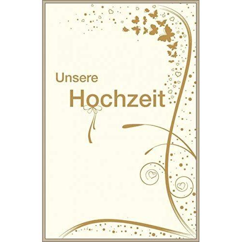 Tandem Verlag - Eintragbuch: Unsere Hochzeit - Preis vom 31.03.2020 04:56:10 h
