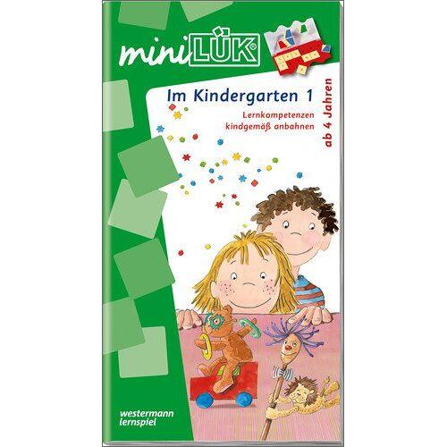 Michael Junga - miniLÜK: Kindergarten / Vorschule / Im Kindergarten 1: Lernkompetenzen kindgemäß anbahnen - Preis vom 19.07.2019 05:35:31 h