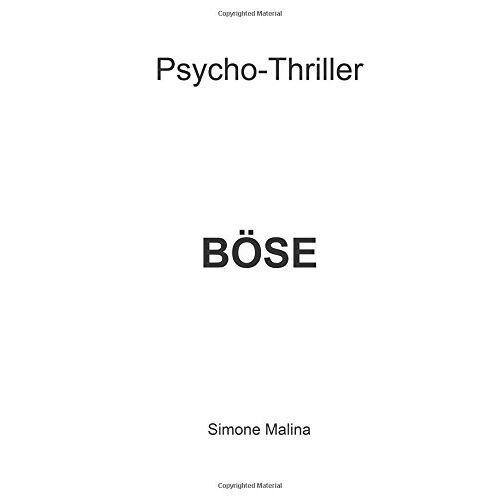 Simone Malina - Boese - Preis vom 21.10.2020 04:49:09 h
