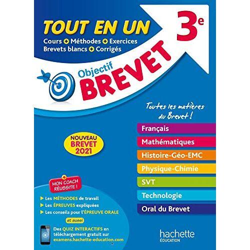 Collectif - Le Tout-en-un - Brevet 2021 (Objectif Brevet) - Preis vom 05.09.2020 04:49:05 h
