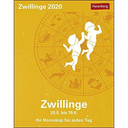 Robert Satorius - Zwillinge 2020 11x14cm - Preis vom 06.05.2021 04:54:26 h