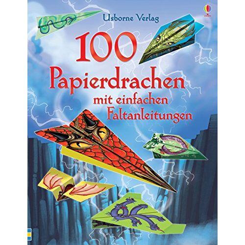 Sam Baer - 100 Papierdrachen mit einfachen Faltanleitungen: mit heraustrennbaren Motivbögen - Preis vom 20.10.2020 04:55:35 h