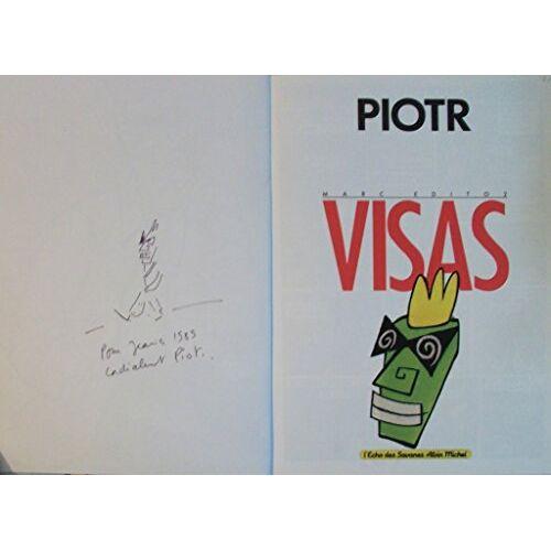 Piotr - Marc edito : visas - Preis vom 18.04.2021 04:52:10 h