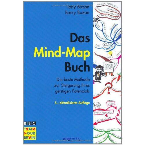 Tony Buzan - Das Mind-Map-Buch . Die beste Methode zur Steigerung ihres geistigen Potenzials - Preis vom 13.05.2021 04:51:36 h