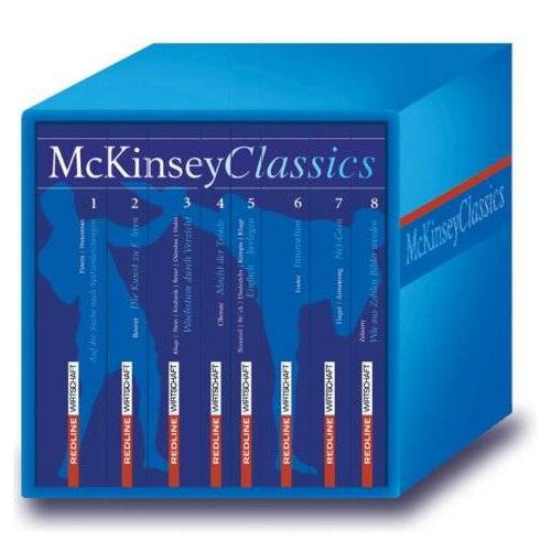 Peters, Thomas J. - McKinsey Classics. 8 Klassiker und Bestseller von McKinsey-Autoren in der Box: 8 Bde. - Preis vom 20.01.2021 06:06:08 h