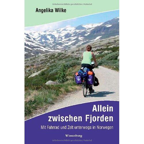 Angelika Wilke - Allein zwischen Fjorden: Mit Fahrrad und Zelt unterwegs in Norwegen - Preis vom 11.04.2021 04:47:53 h