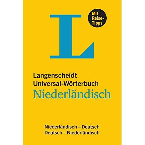 - Langenscheidt Universal-Wörterbuch Niederländisch: Niederländisch-Deutsch / Deutsch-Niederländisch - Preis vom 06.05.2021 04:54:26 h