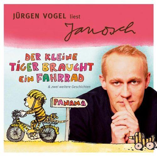 Janosch - Der kleine Tiger braucht ein Fahrrad. CD . Und zwei weitere Geschichten - Preis vom 20.10.2020 04:55:35 h
