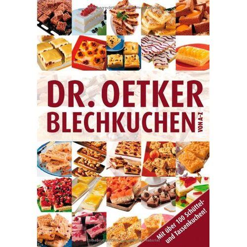 Oetker - Blechkuchen von A-Z - Preis vom 06.03.2021 05:55:44 h