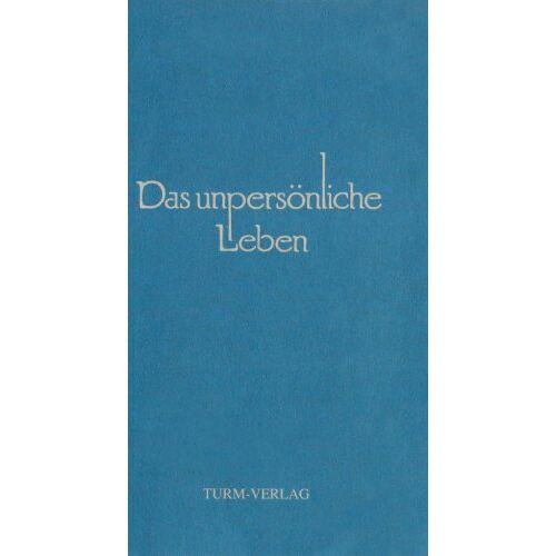 - Das unpersönliche Leben - Preis vom 07.09.2020 04:53:03 h