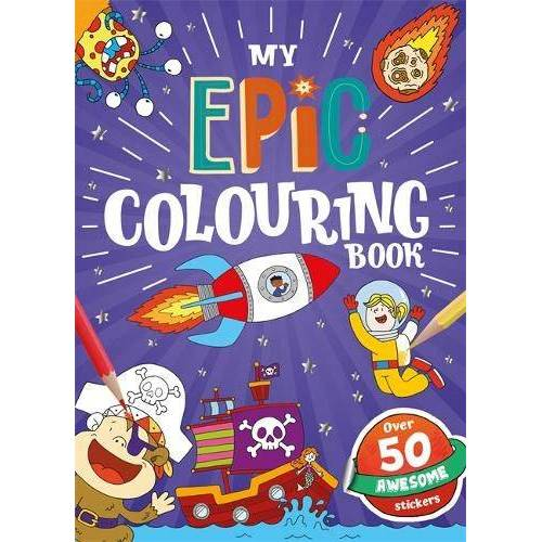 - My Epic Colouring Book (Holo Colouring) - Preis vom 20.10.2020 04:55:35 h