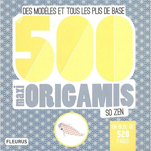 - 500 maxi origamis so zen (MES ORIGAMIS) - Preis vom 24.01.2021 06:07:55 h