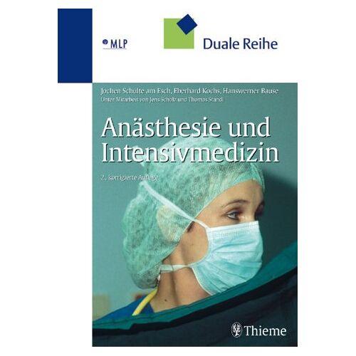 Jochen Schulte am Esch - Anästhesie und Intensivmedizin - Preis vom 12.05.2021 04:50:50 h