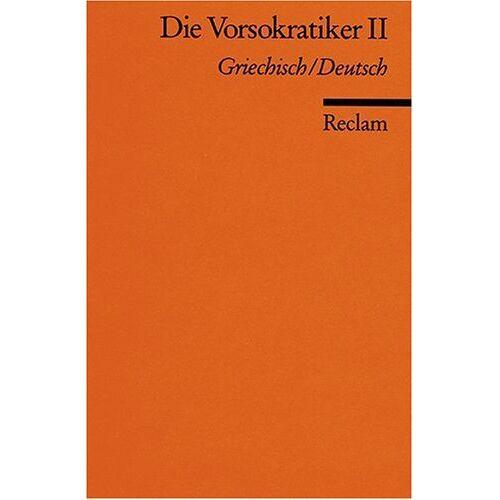 - Die Vorsokratiker II - Preis vom 14.04.2021 04:53:30 h