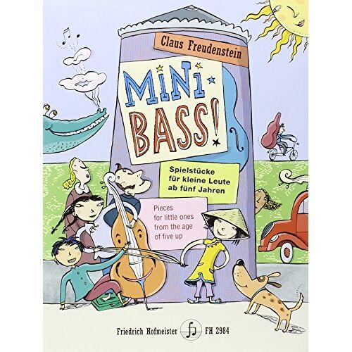Claus Freudenstein - Mini Bass: Kontrabass; 1-2 - Preis vom 20.01.2021 06:06:08 h