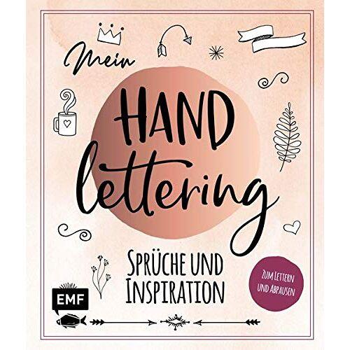 - Mein Handlettering – Sprüche und Inspiration: Zum Lettern und Abpausen - Preis vom 08.05.2021 04:52:27 h