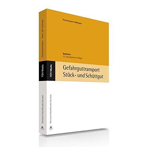 R. Pech - Gefahrguttransport: Stück- und Schüttgut: Basiskurs (TÜV Lehrbücher) - Preis vom 12.05.2021 04:50:50 h