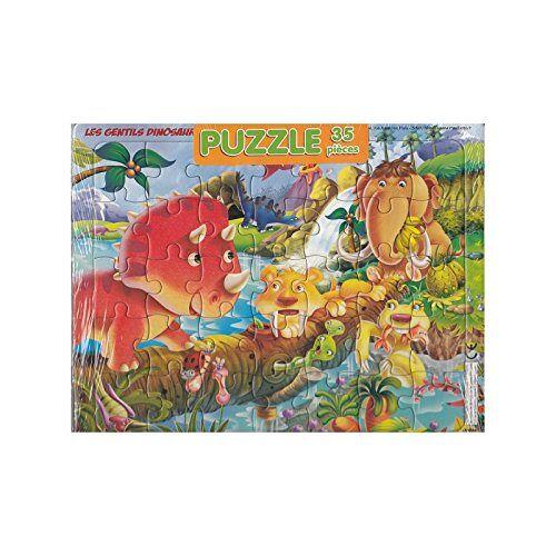 - Puzzle Les gentils dinosaures - 35 pièces - Preis vom 18.10.2020 04:52:00 h