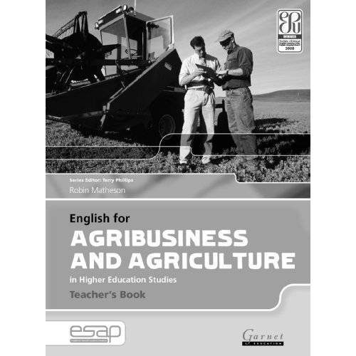 Robin Matheson - English for Agribusiness and Agriculture in Higher Education Studies - Teacher's Book - Preis vom 01.06.2020 05:03:22 h