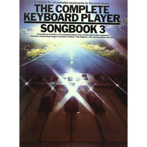 - The Complete Keyboard Player: Songbook 3 (Album): Songbook für Keyboard - Preis vom 20.01.2021 06:06:08 h