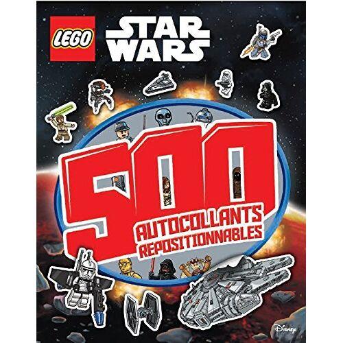 Lego - Lego Star Wars : 500 autocollants repositionnables - Preis vom 04.04.2020 04:53:55 h