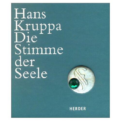Hans Kruppa - Die Stimme der Seele - Preis vom 18.04.2021 04:52:10 h