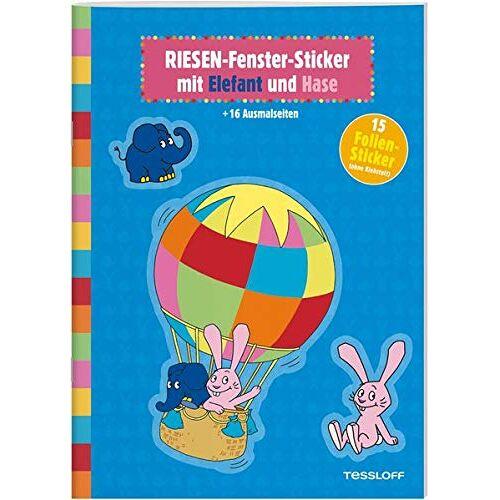 - RIESEN-Fenster-Sticker mit Elefant und Hase - Preis vom 18.04.2021 04:52:10 h