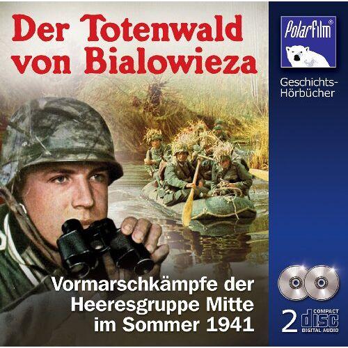 Sprecher: Hendrik Stickan - Der Totenwald von Bialowieza [Hörbuch 2CDs] - Preis vom 07.05.2021 04:52:30 h