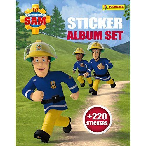 - Feuerwehrmann Sam Sticker Album Set - Preis vom 16.04.2021 04:54:32 h