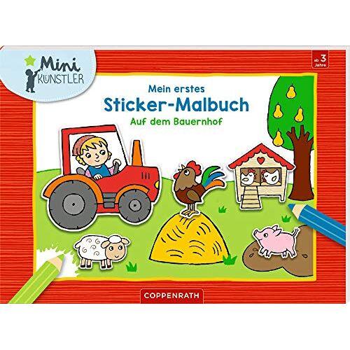 - Mein erstes Sticker-Malbuch: Auf dem Bauernhof - Preis vom 09.04.2020 04:56:59 h