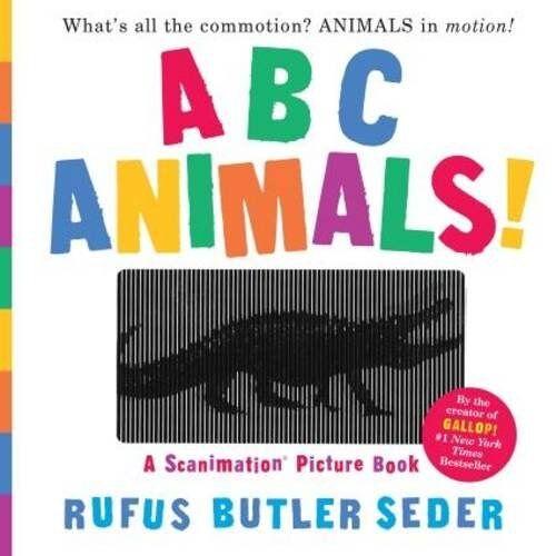 Seder, Rufus Butler - ABC Animals!: A Scanimation Picture Book (Scanimation Picture Books) - Preis vom 17.01.2020 05:59:15 h