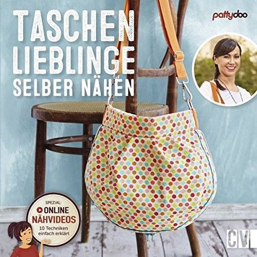 pattydoo - Taschenlieblinge selber nähen: Mit online Nähvideos - Preis vom 23.01.2021 06:00:26 h