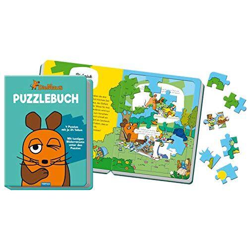Trötsch Verlag GmbH & Co. KG - Puzzlebuch Die Maus: 10 Seiten, 4 Puzzle - Preis vom 28.02.2021 06:03:40 h