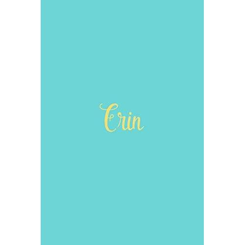 Personalized Journals - Erin: Personalized Name Turquoise Matte Soft Cover Notebook Journal to Write In. 120 Blank Lined Pages - Preis vom 13.05.2021 04:51:36 h
