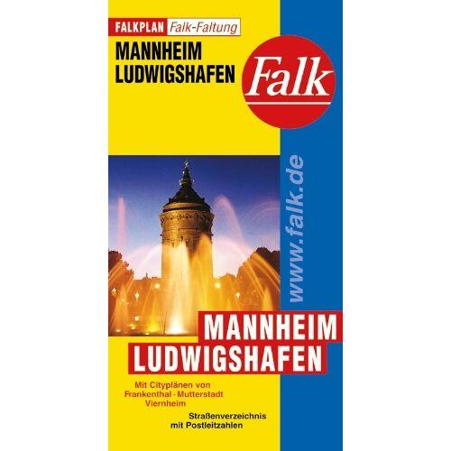 - Falkplan Falk-Faltung Mannheim / Ludwigshafen - Preis vom 10.12.2019 05:57:21 h