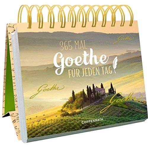 Goethe, Johann W. von - 365 x Goethe für jeden Tag - Preis vom 09.05.2021 04:52:39 h