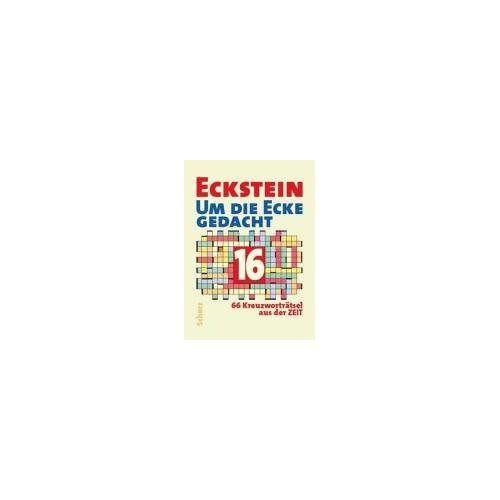 Eckstein - Um die Ecke gedacht 16: 66 Kreuzworträtsel aus der Zeit - Preis vom 04.09.2020 04:54:27 h