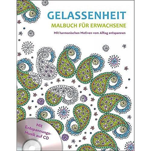 Ullmannmedien - Malbuch für Erwachsene mit CD - Gelassenheit - Preis vom 06.04.2020 04:59:29 h