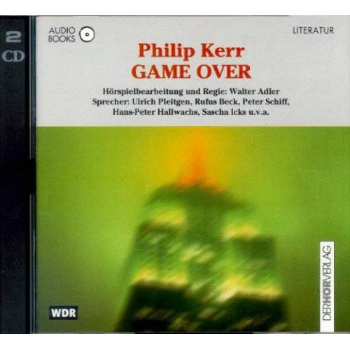 Philip Kerr - Game over. Audiobook. 2 CDs - Preis vom 03.05.2021 04:57:00 h